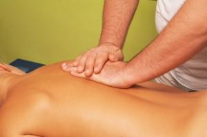 massage of female body